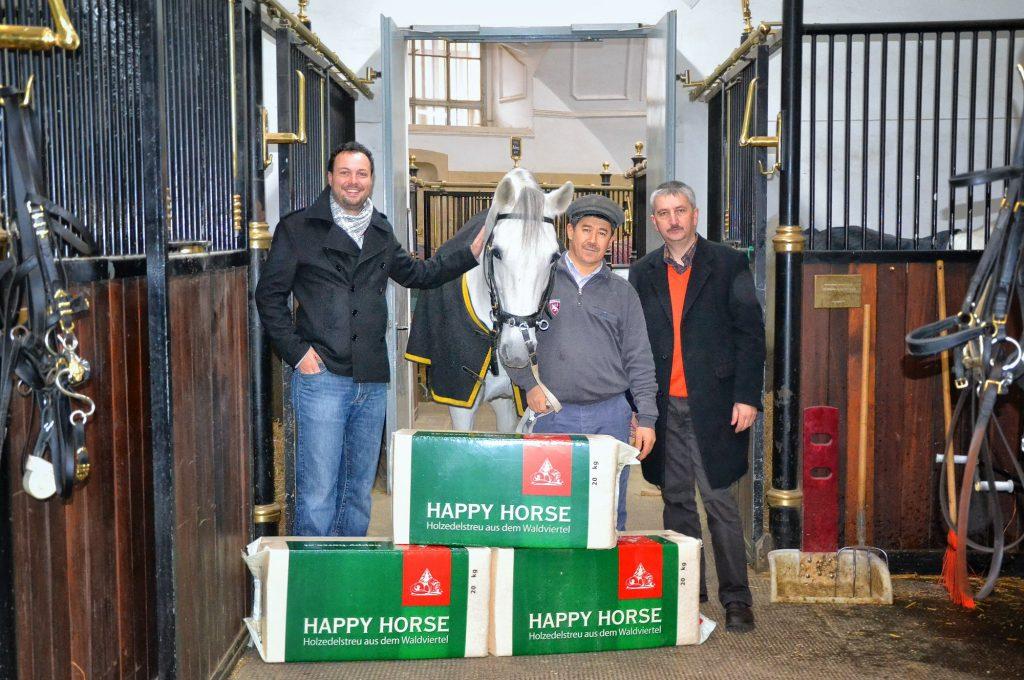 Spanische Hofreitschule mit Happy Horse Ballen